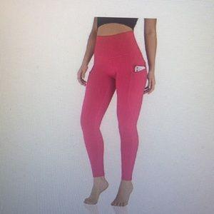High Waisted Yoga Leggings with Pocket